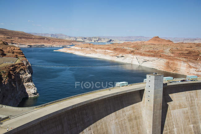 Barrage de Glen canyon — Photo de stock
