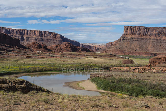 Colorado River at Canyonlands National Park — Stock Photo