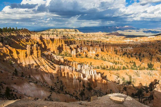 Formações de arenito do Parque Nacional Bryce Canyon — Fotografia de Stock