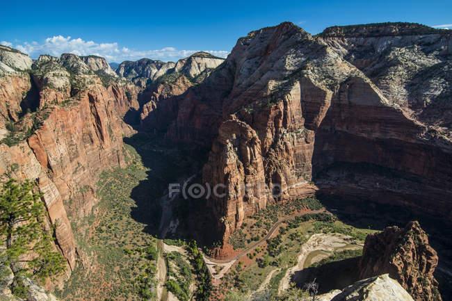 Blick über den Zion Nationalpark — Stockfoto