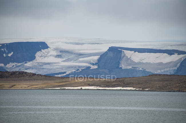 Immense glacier en Bjornsund — Photo de stock