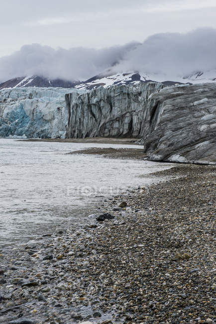 Immense glacier d'Hornsund — Photo de stock