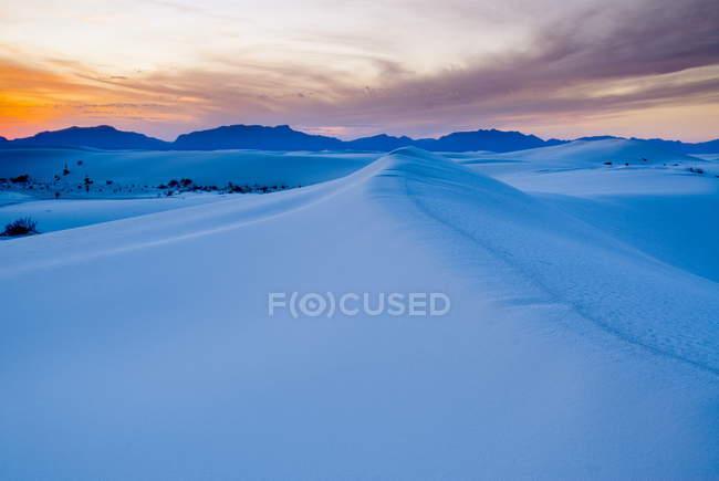 Белые пески Национальный памятник — стоковое фото
