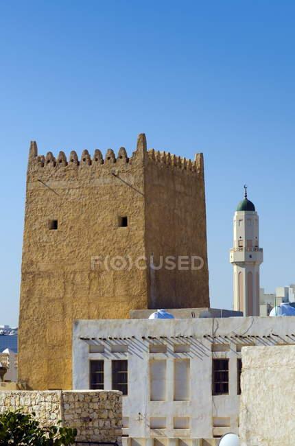 Old Town perto Souq Waqif — Fotografia de Stock