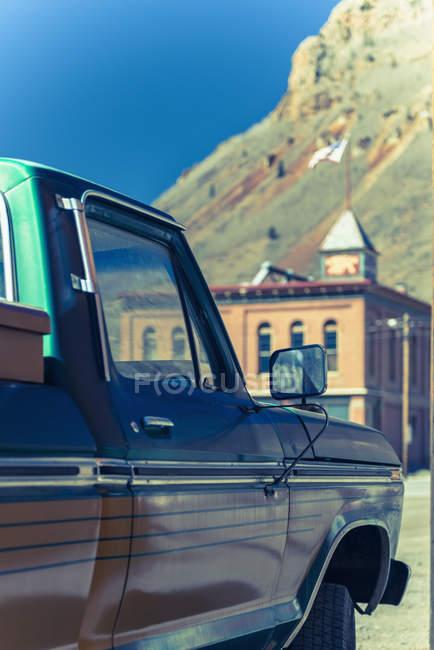 Вид автомобиля в Силвертон — стоковое фото