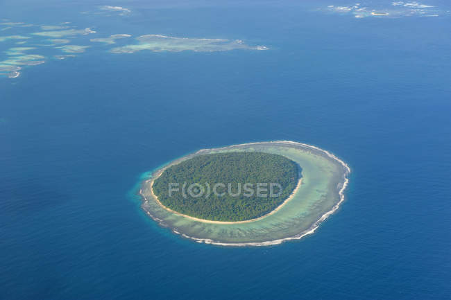 Piccola isola a Tonga — Foto stock