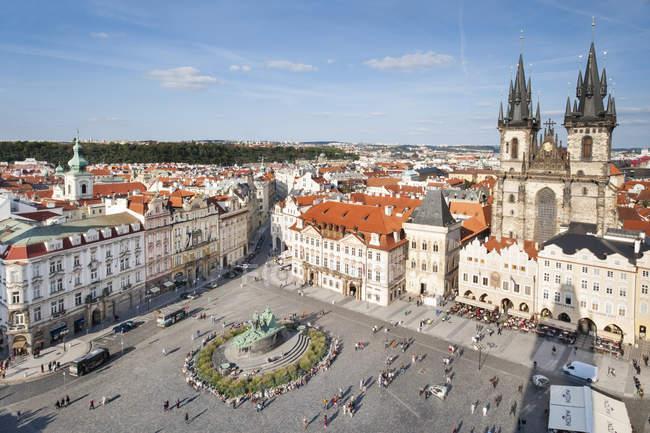 Vue de la vieille ville — Photo de stock