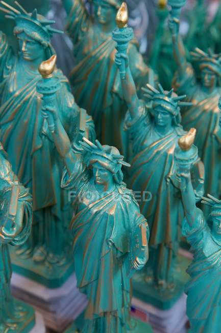 Статуя свободы сувениры — стоковое фото