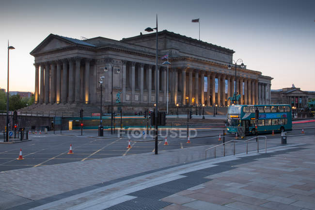 View on St. Georges Hall — Stock Photo