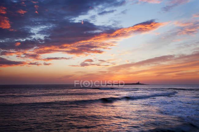 Коке острів на світанку — стокове фото