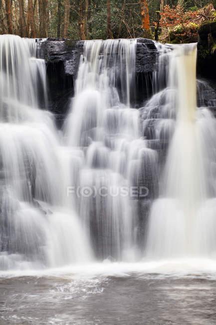 Goitstock водопад в лесу Goitstock — стоковое фото