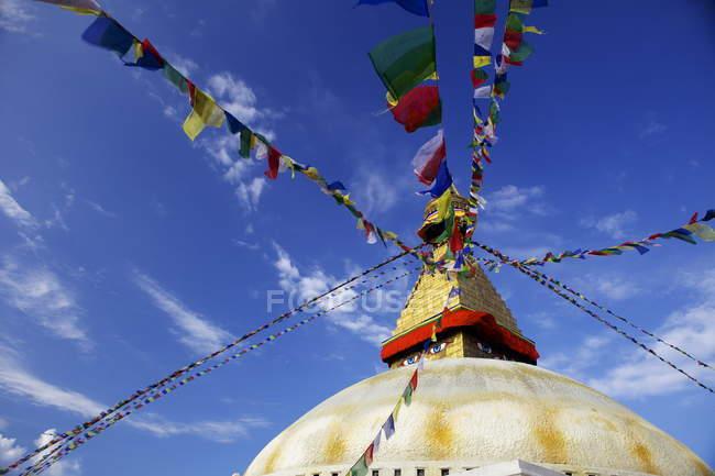 Boudhanath Stupa with eyes — Stock Photo
