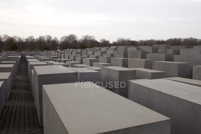 Ansicht der Holocaust-Gedenkstätte — Stockfoto