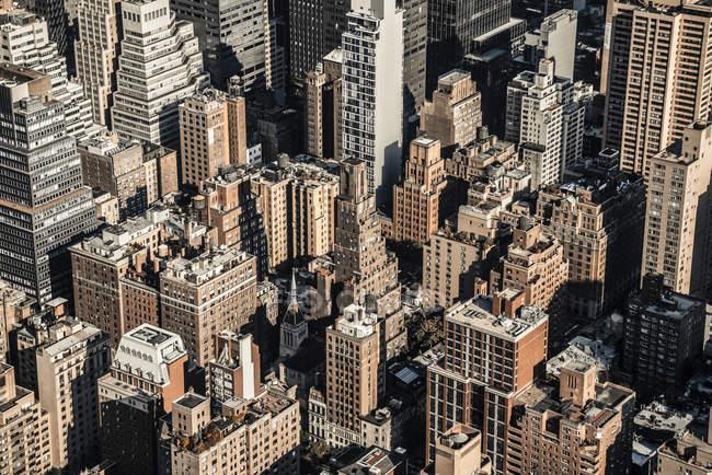 Дахи, Midtown, Манхеттен — стокове фото