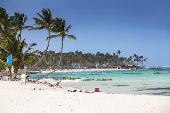Пляж кайтсерфинга кайт клуб — стоковое фото