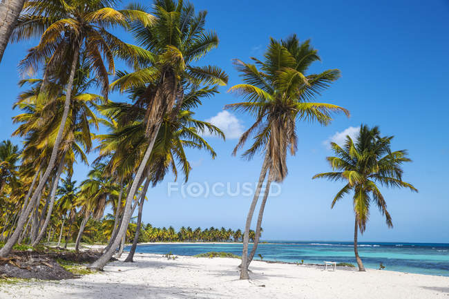 Перегляд Playa de la Canto — стокове фото