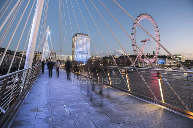 London Eye, London — Stock Photo