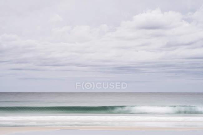Вид на затоку духів береговій лінії — стокове фото