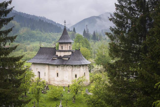 Sucevita mosteiro do norte da Moldávia — Fotografia de Stock