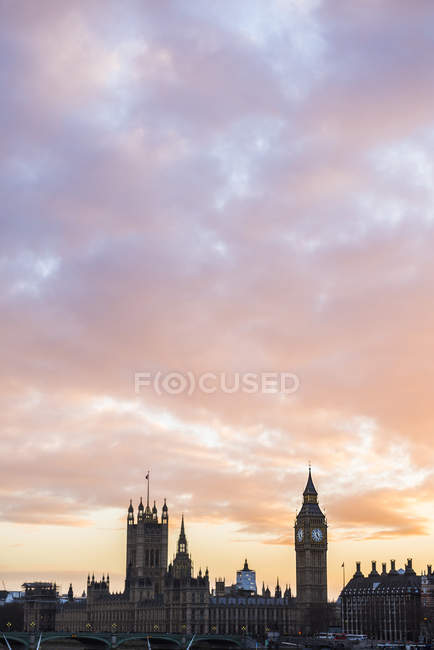 Big Ben and Houses of Parliament — стоковое фото