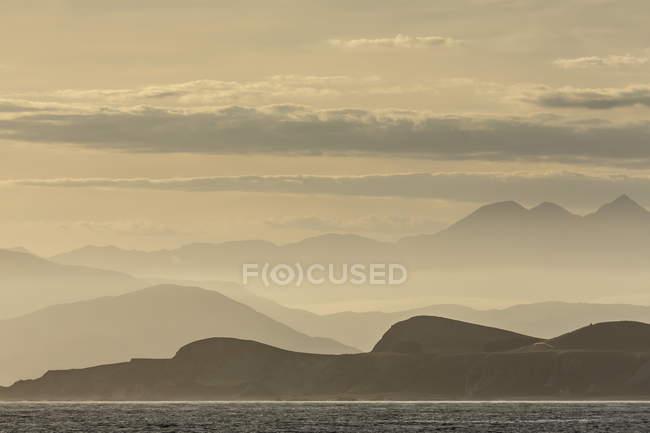 Blick auf Küste von Kaikoura — Stockfoto