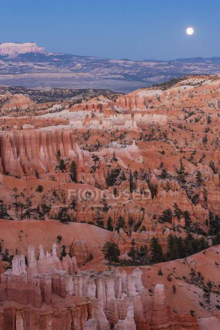 Anfiteatro di Bryce canyon — Foto stock