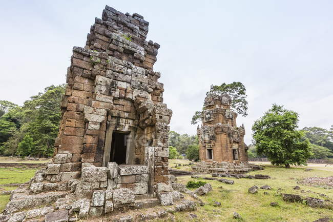 Elephant King Terrace in Angkor Thom — Stock Photo