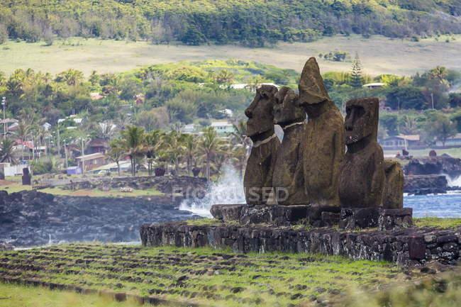 Tahai археологічної зони — стокове фото
