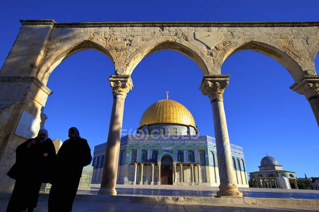 Dome of the Rock, Temple Mount — Stock Photo
