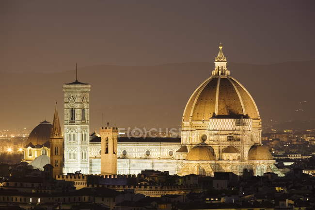 View of Duomo and Campanile — Stock Photo