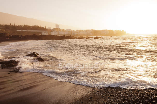 Strand Playa Jardin — Stockfoto