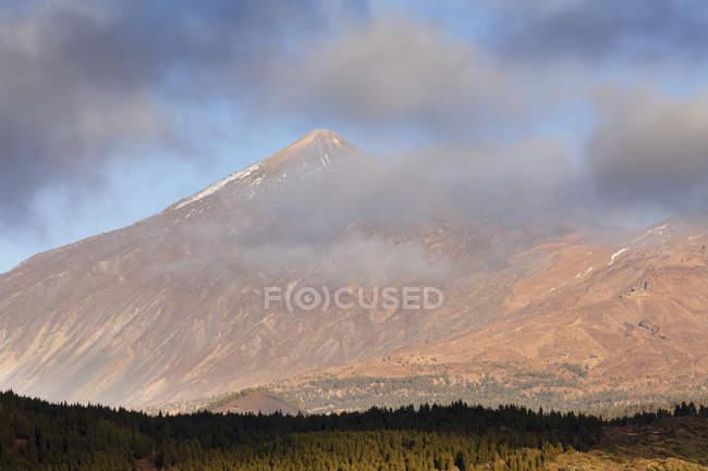 Pico de Teide at sunset — Stock Photo