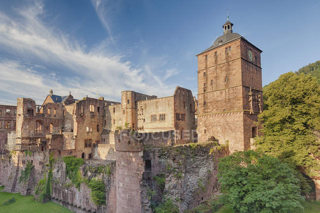 View of Castle in Heidelberg — Stock Photo
