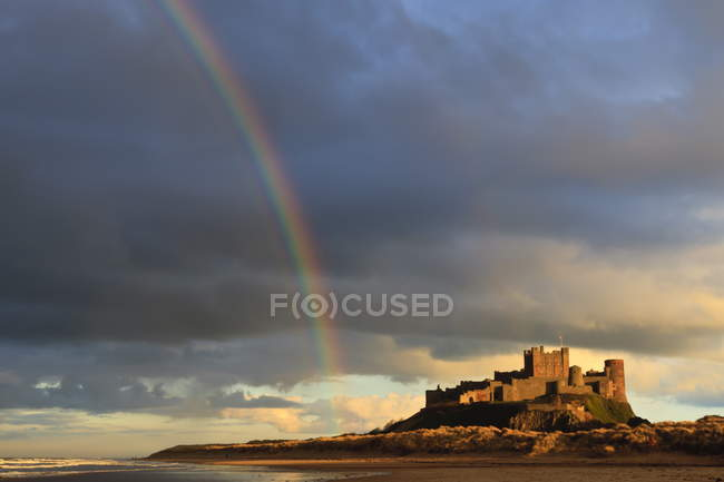 Bamburgh Castle, Bamburgh — Stock Photo