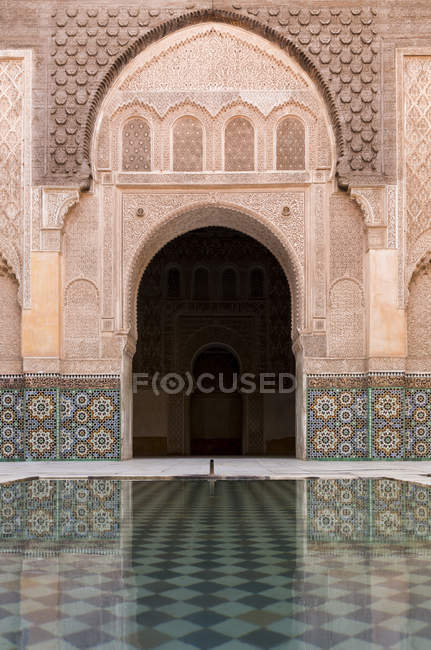 Medersa Ali Ben Youssef — Stock Photo