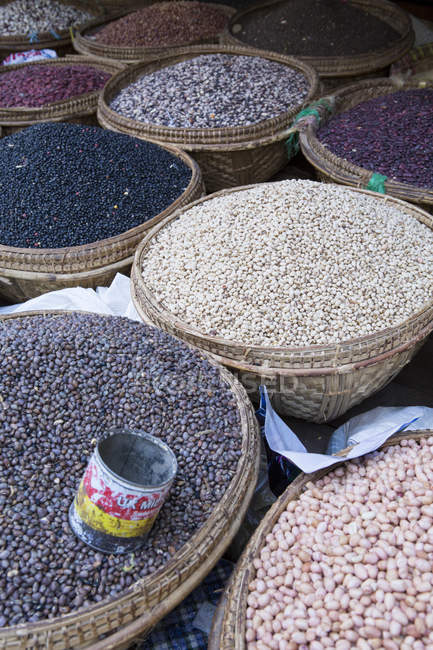 View of Pulses in market — Stock Photo