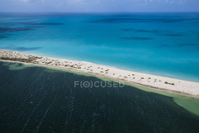 Color contrasts of Barbuda — Stock Photo