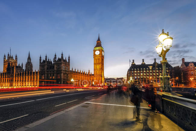 Big Ben and the Palace of Westminster — Stock Photo