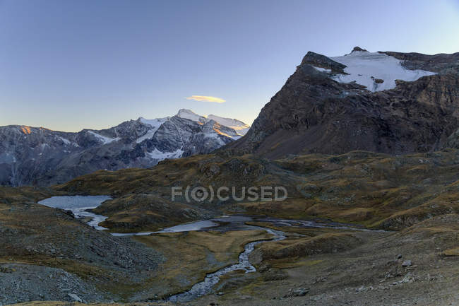View of Grande Aiguille Rousse — Stock Photo