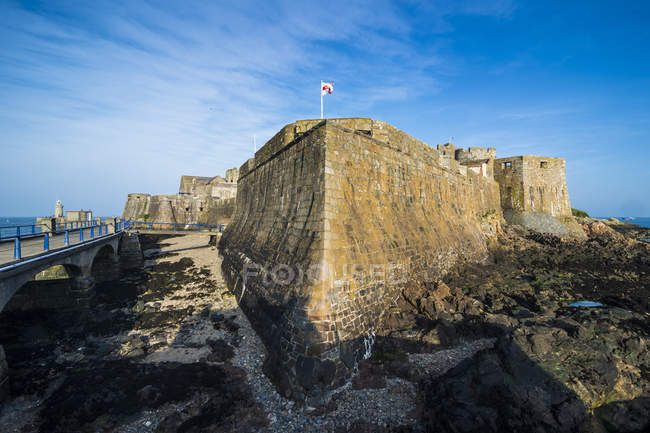 Cornet Castle, Saint Peter Port — Stock Photo