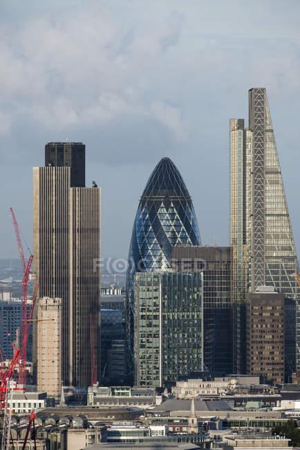Vista della città di Londra — Foto stock