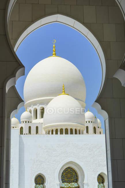 Grande Mesquita Sheikh zayed — Fotografia de Stock