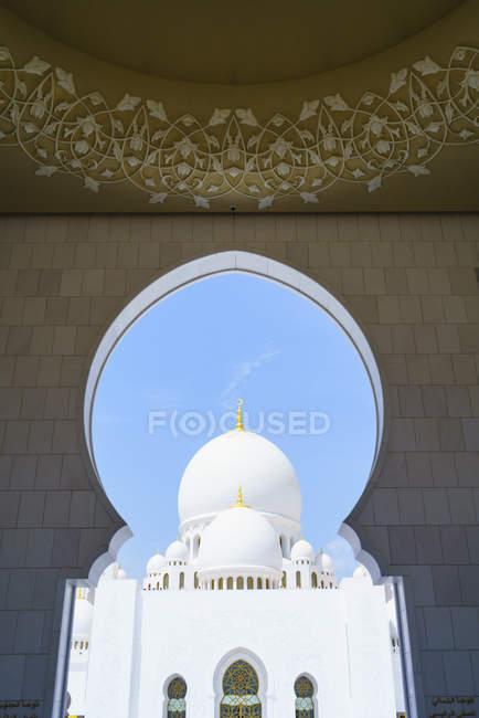 Шейх zayed мечеть — стоковое фото