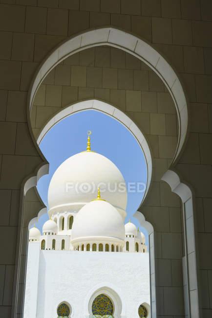 Mesquita Sheikh zayed — Fotografia de Stock