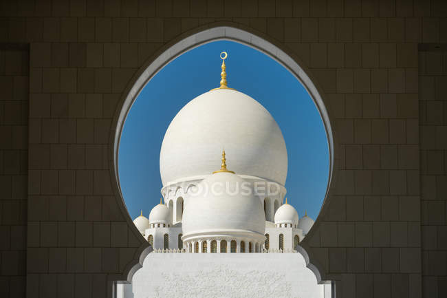Mezquita Sheikh zayed - foto de stock