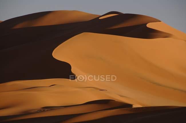 Dünen bei Sonnenuntergang — Stockfoto