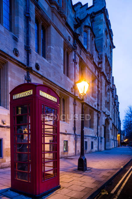 View of St Giles Street — Stock Photo