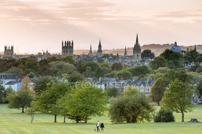 Vista di Oxford da South Park — Foto stock