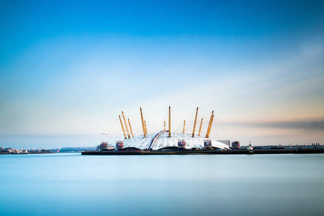 View of  Millennium Dome — Stock Photo