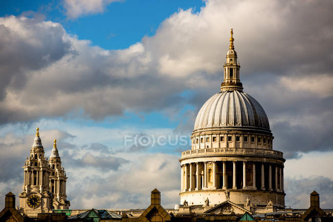 St. Pauls Cathedral, London — Stock Photo